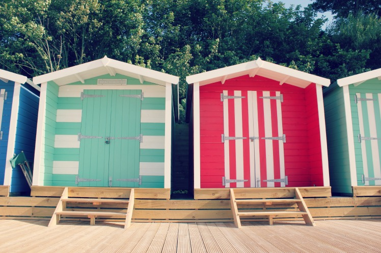 Colwell Beach huts