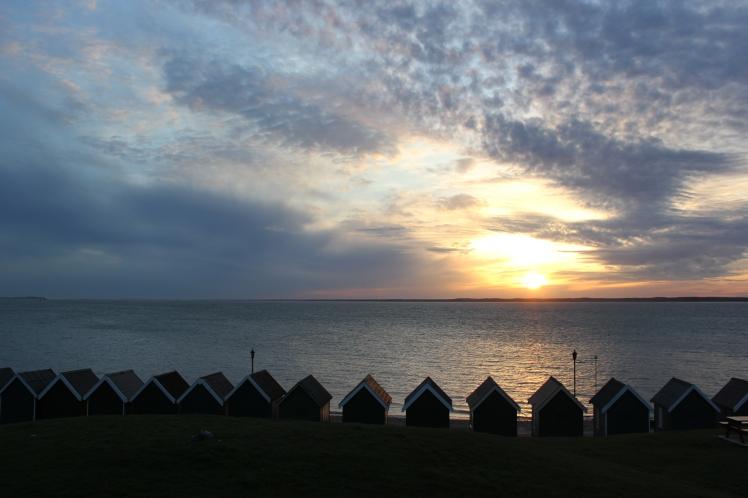 Those beach huts